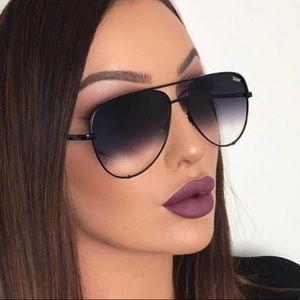 Quay x Desi high key fade sunglasses
